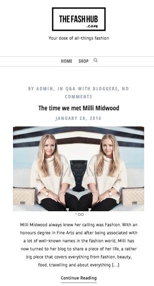 The Fash Hub Milli Midwood